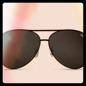 Australian Quay oversized aviator sunglasses